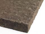 isolation en plaque de liège noir